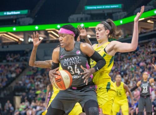 Trophées WNBA Breanna Stewart