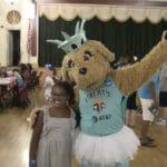 Maddie, la mascotte du New York Liberty