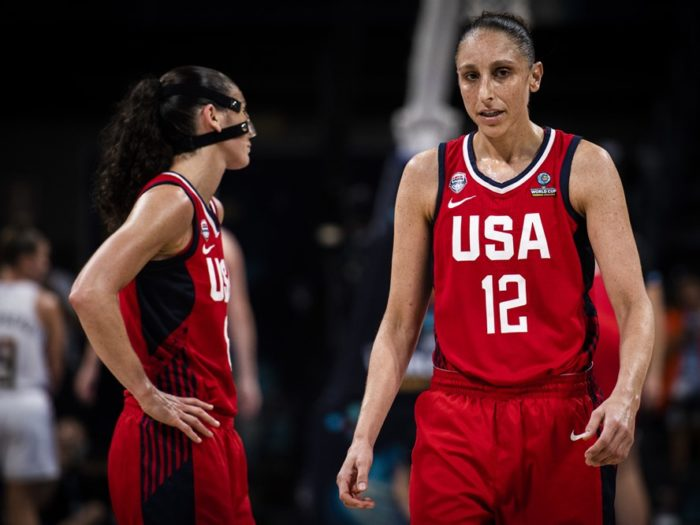 Sue Bird Diana Taurasi Team USA