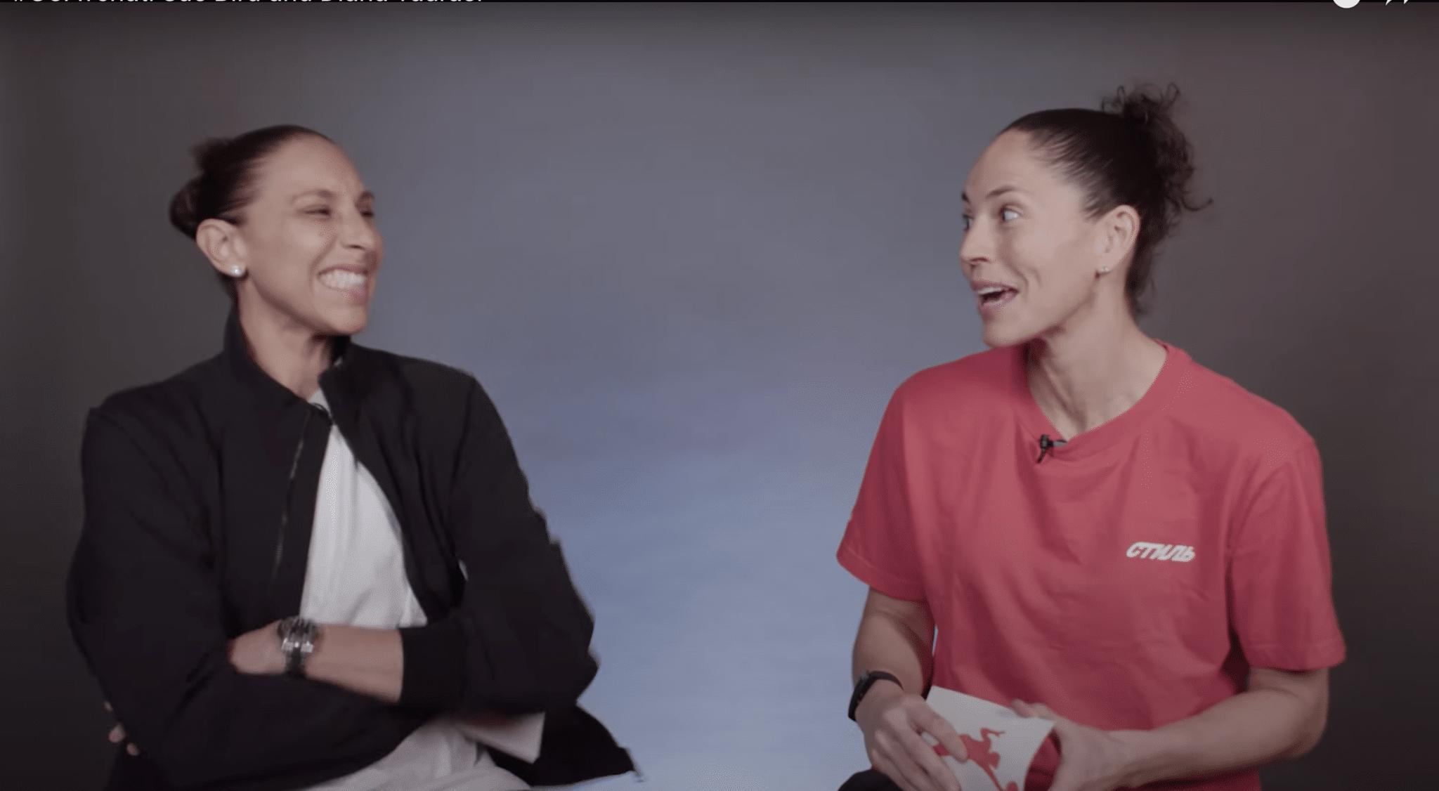 Diana Taurasi et Sue Bird GOAT Chat