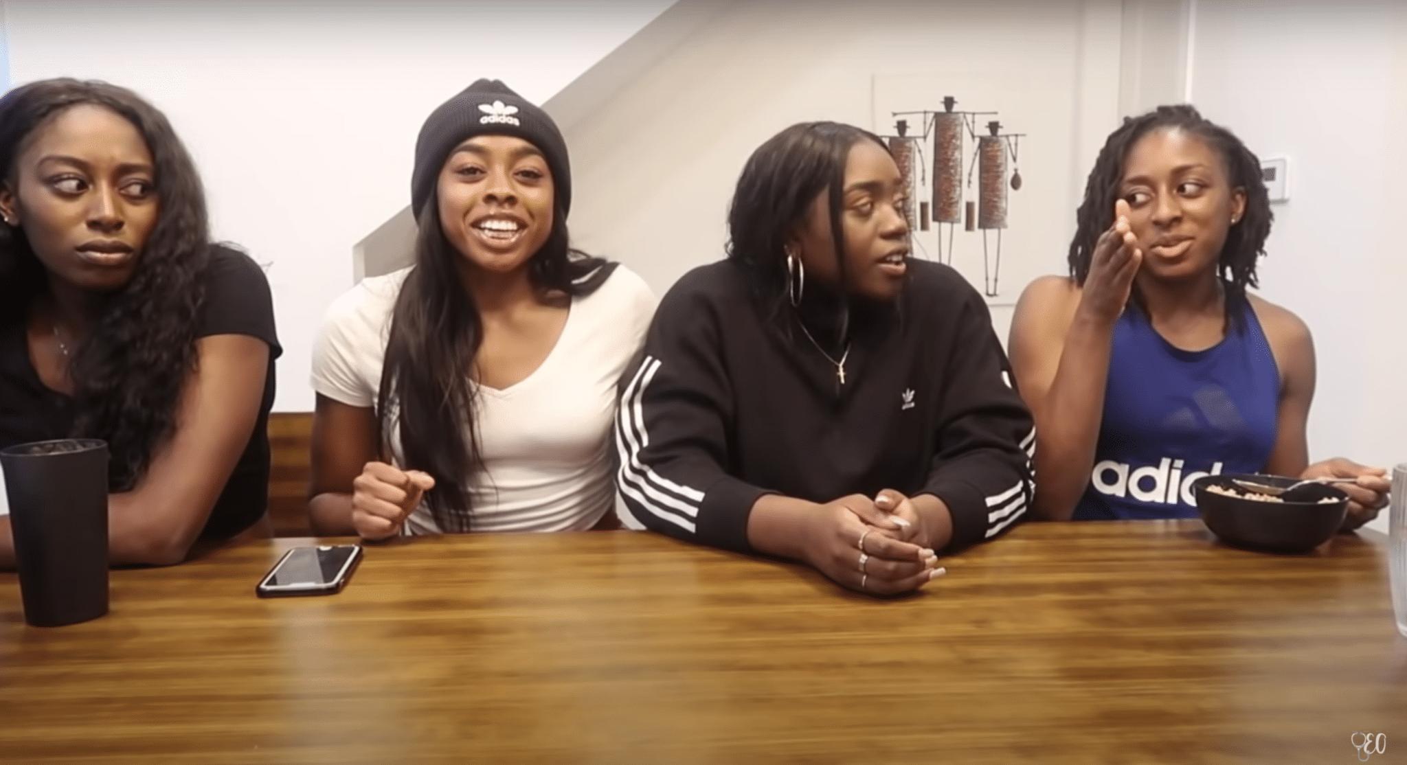 Les soeurs Ogwumike : Nneka, Chiney, Olivia et Erica