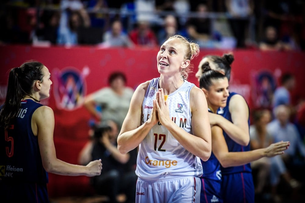 Ann Wauters à l'Eurobasket 2019