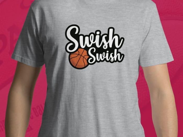 T-shirt pour hommes Swish Swish