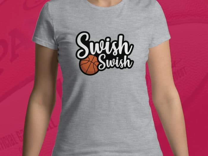 T-shirt pour femmes Swish Swish