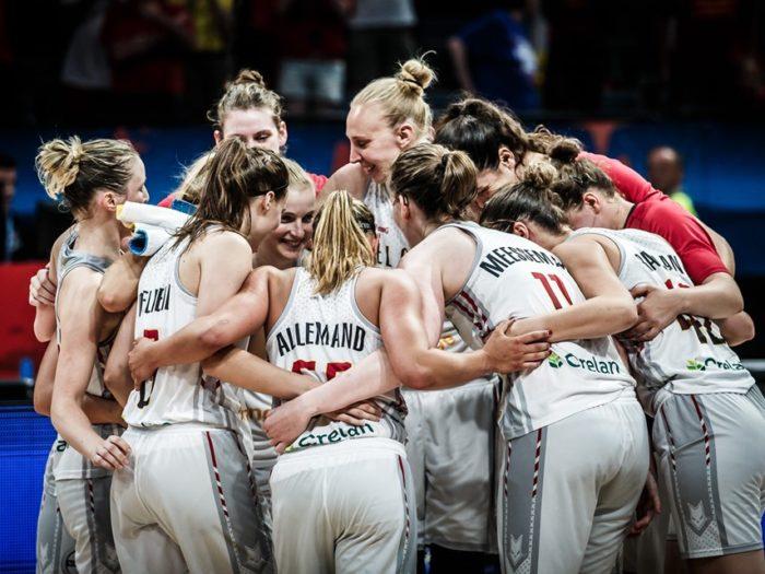 Belgian Cats à l'Eurobasket 2019