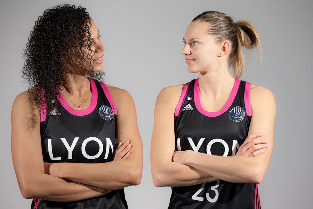 Marine Johannès et Alysha Clark, Euroleague 2020-21
