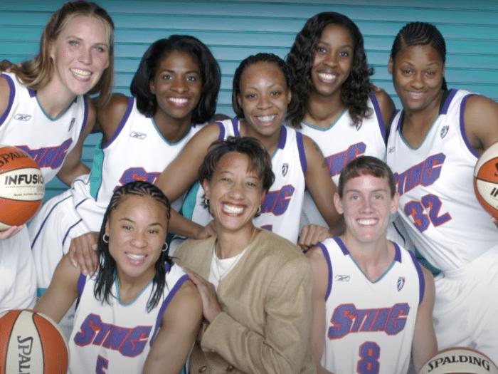 Charlotte Sting WNBA