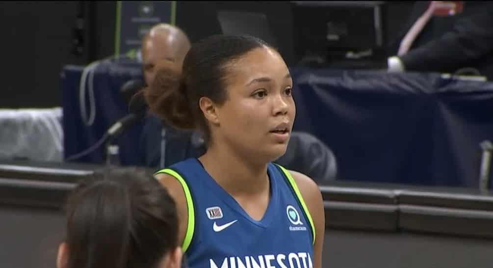 Napheesa Collier Lynx WNBA