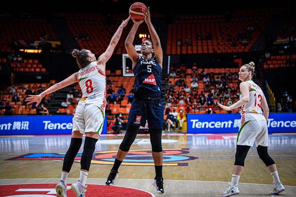 équipe de France Biélorussie Eurobasket Endy Miyem Bleues