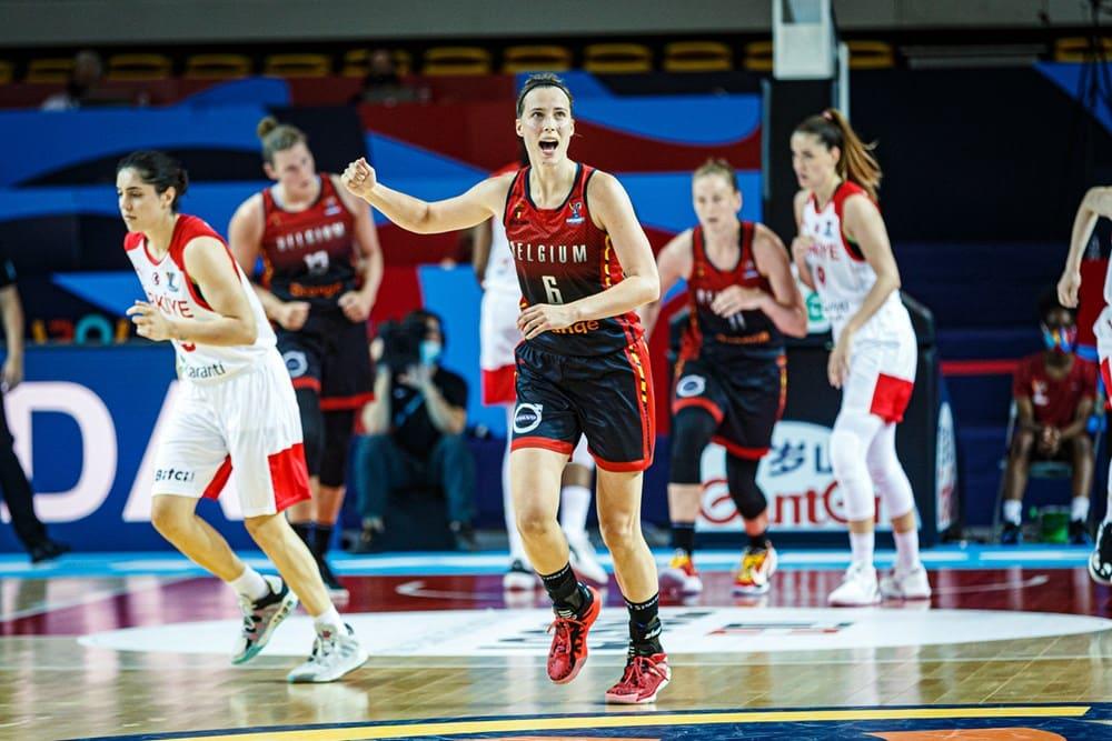 Antonia Delaere - Eurobasket 2021