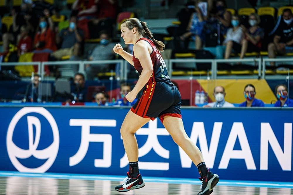 Billie Massey - Eurobasket 2021