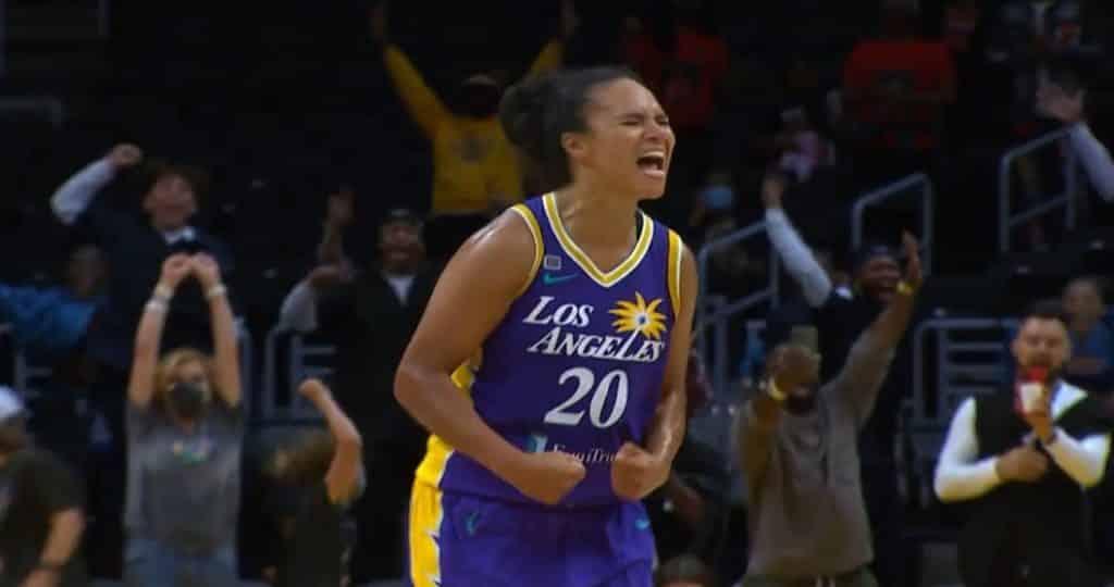 Kristi Toliver Los Angeles Sparks