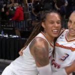 Phoenix Mercury WNBA Brittney Griner Diana Taurasi
