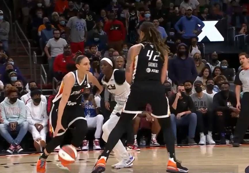 Phoenix Mercury Chicago Sky game 2 WNBA
